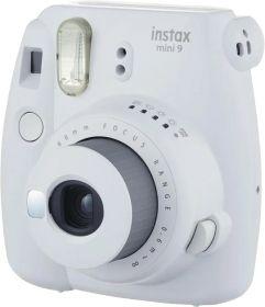 Câmera Instantânea Fujifilm Instax Mini 9 Tipo Polaroid + 10 Filmes - Branco Gelo