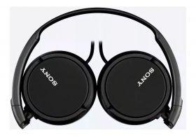 Fone de Ouvido Sony Com Fio P2 MDR-ZX110 Dobrável - Preto