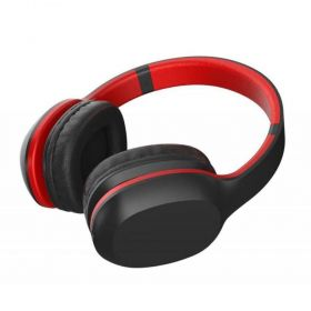 Fone de Ouvindo Bluetooth XTRAX Groove - Preto/Vermelho