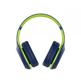 Fone de Ouvindo Bluetooth XTRAX Groove - Verde/Azul