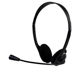 Headset Bright 0010 Office Com Microfone e Haste Ajustável - Preto