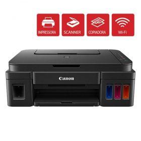Impressora Multifuncional Canon Pixma G3100 com Tanque de Tinta e Wi-Fi