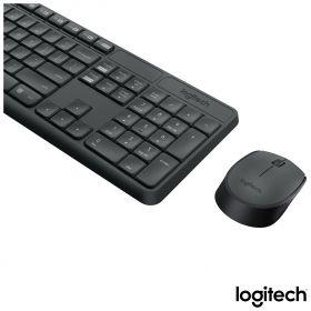 Kit Teclado e Mouse Wireless Logitech MK235