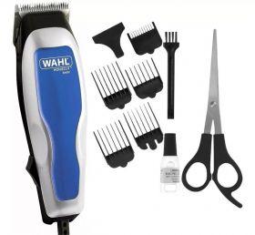 Máquina de Cortar Cabelo Wahl Home Cut Basic Profissional 220V - Azul