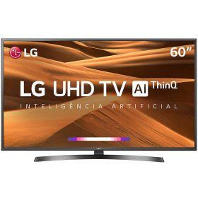 "Smart TV LED 60"" LG UM7270 Ultra HD 4K HDR Ativo, DTS Virtual X, Inteligencia Artificial THINQ AI, WEBOS 4.5"