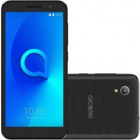 """Smartphone Alcatel 1 8gb Tela 5"""", Android Oreo, 4G,  8mp + 5mp - Preto"""