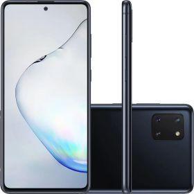 """Smartphone Samsung Galaxy Note 10 Lite 128gb 6gb Ram Dual Tela de 6.7"""" 4G Câmera Tripla de 12+12+12MP - Preto"""
