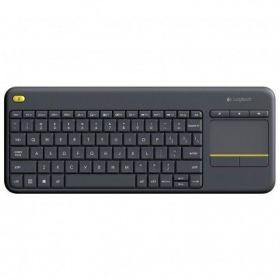 Teclado Wireless Logitech com Touchpad K400 Plus