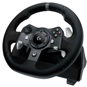 Volante + Pedal Gamer Logitech G920 Driving Force PC e Xbox One