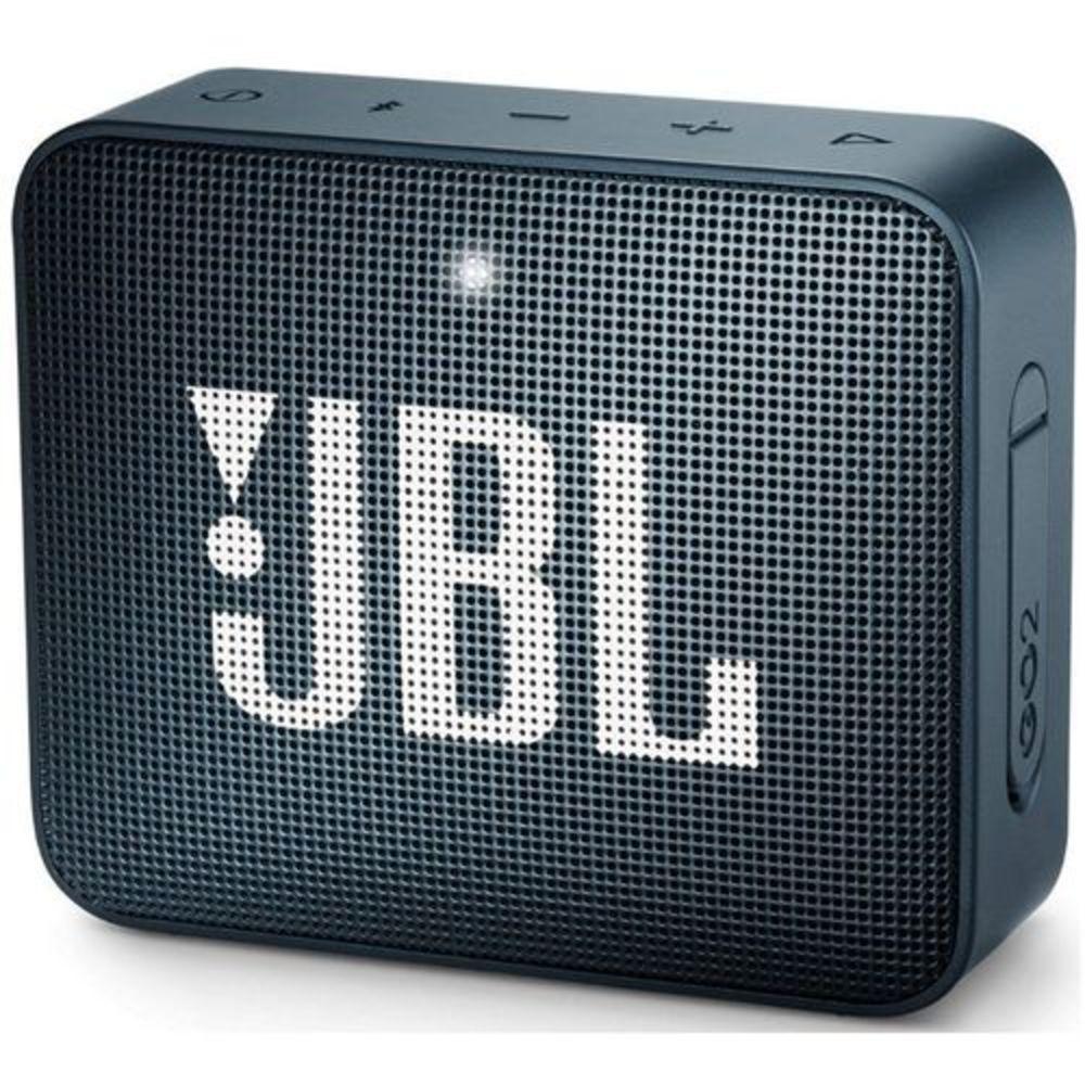 Caixa de Som Portátil JBL GO 2 Bluetooth - Navy Blue
