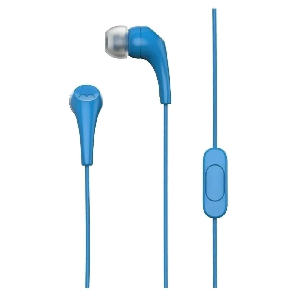 Fone de Ouvido In-Ear Motorola Earbuds 2 - Azul