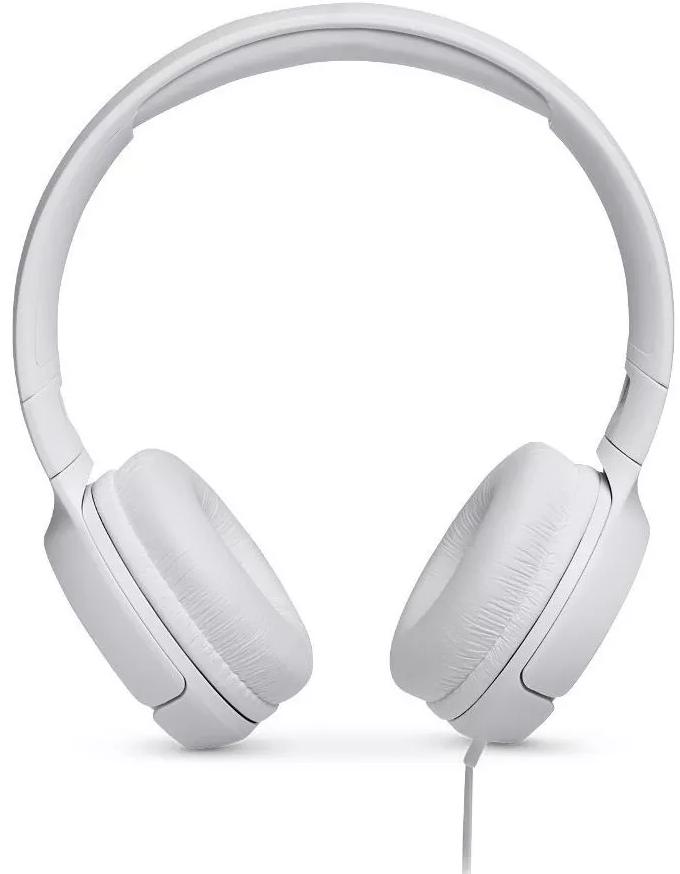 Fone de Ouvido JBL Tune 500 Com Fio - Branco
