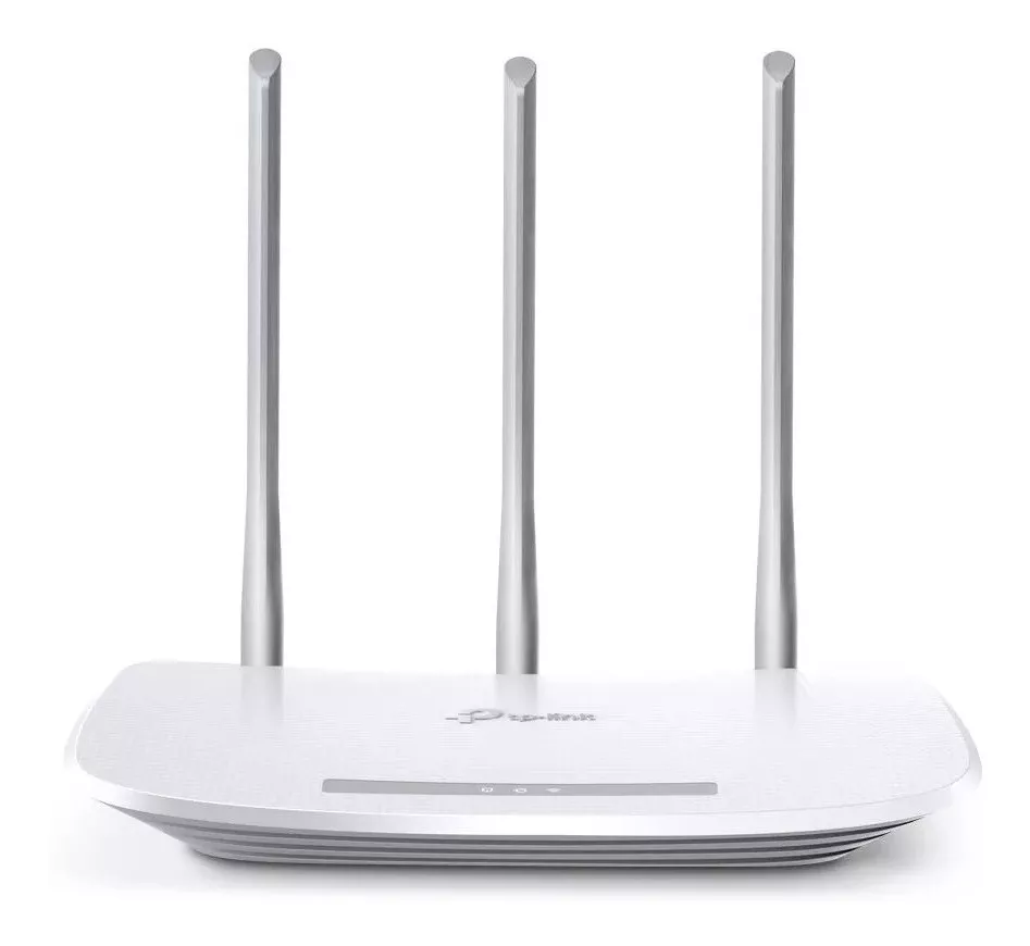 Roteador TP-Link 3 Antenas Repetidor De Sinal Wifi TL-WR845N - Branco