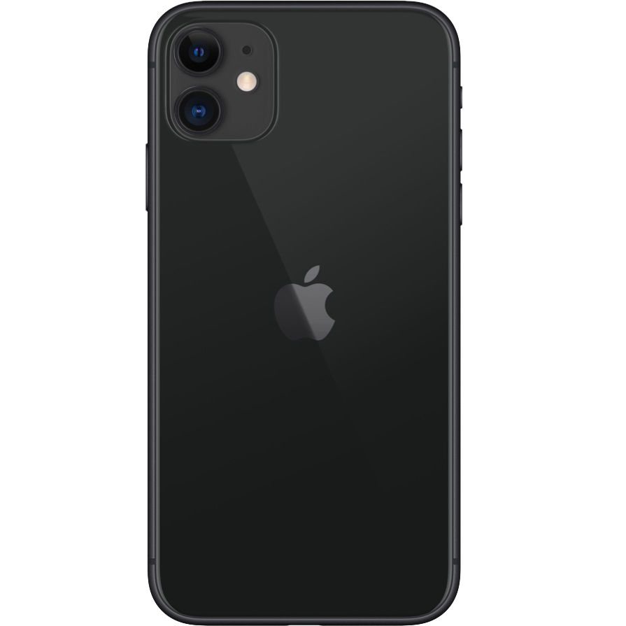 "Smartphone Apple iPhone 11 64gb Tela de 6,1"" 4G Câmera de 12 MP - Preto"