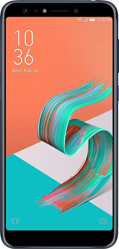 "Smartphone Asus Zenfone 5 Selfie Pro 128GB 4GB RAM Dual Tela 6"" Câmera Dupla de 16MP + 8MP - Preto"