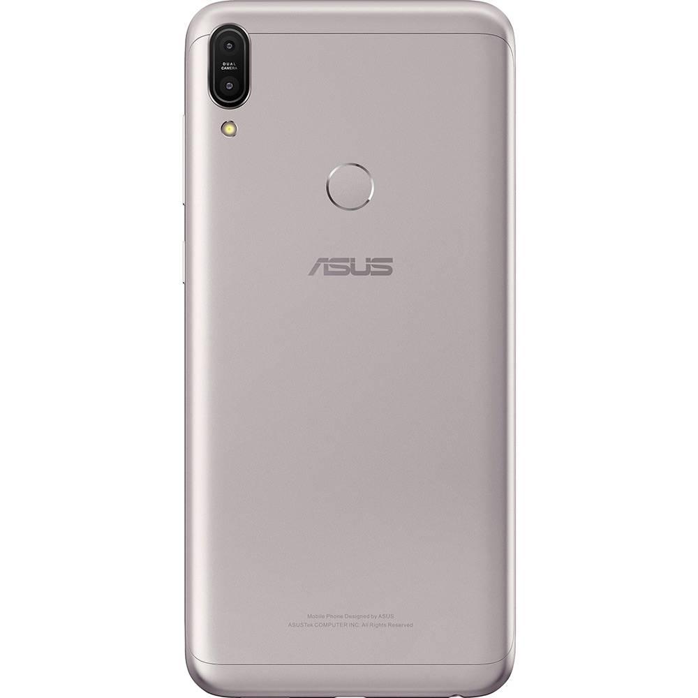 "Smartphone Asus Zenfone Max Pro (M1) 32GB Dual Chip Tela 6"" Android Oreo  Qualcomm Snapdragon SDM636 4G Câmera 13 + 5MP (Dual Traseira) Bateria 5000mAh - Prata"