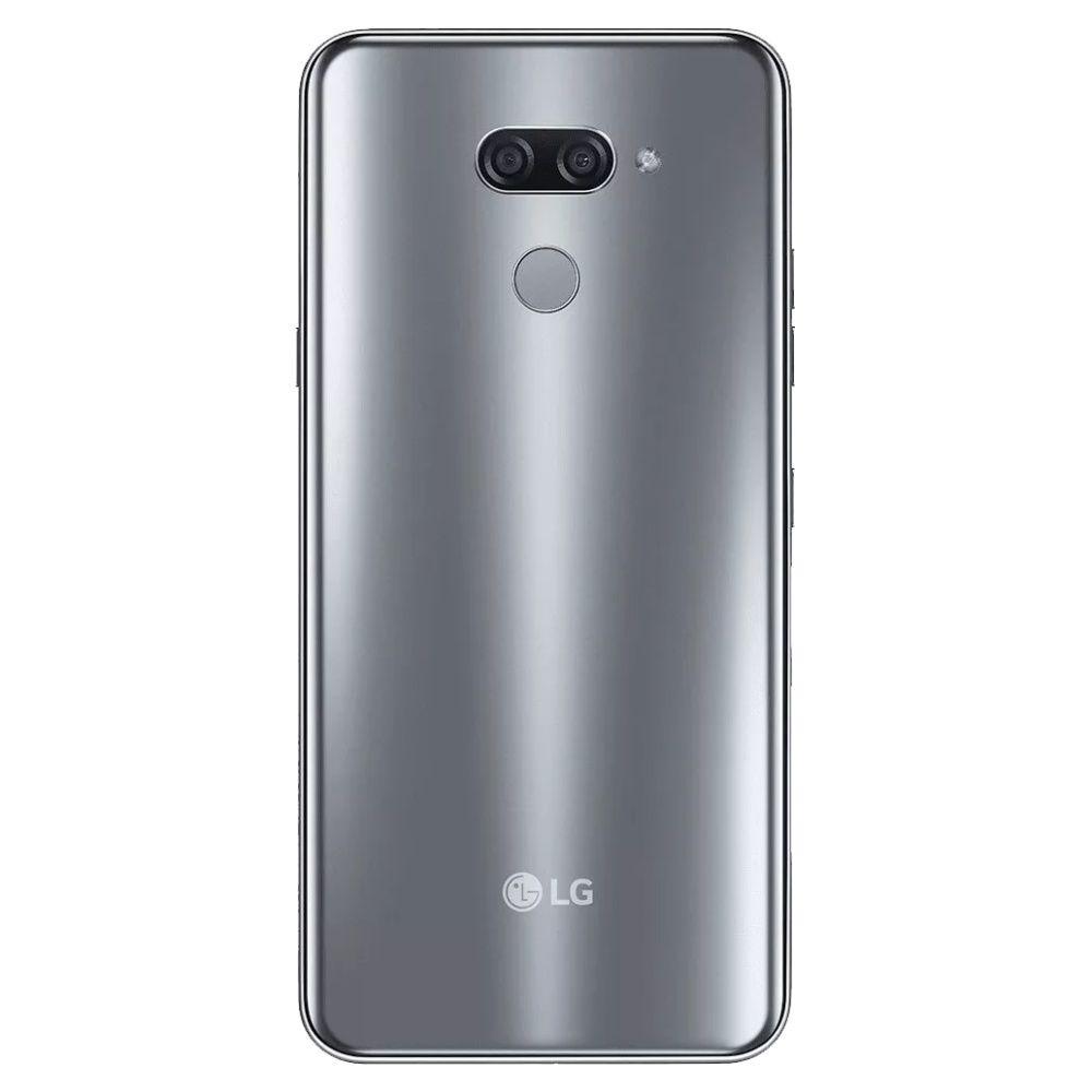 """Smartphone LG K12 Max 32gb 3gb Ram Dual Tela de 6.26"""" 4G Câmera Dupla de 13+2MP - Platina"""