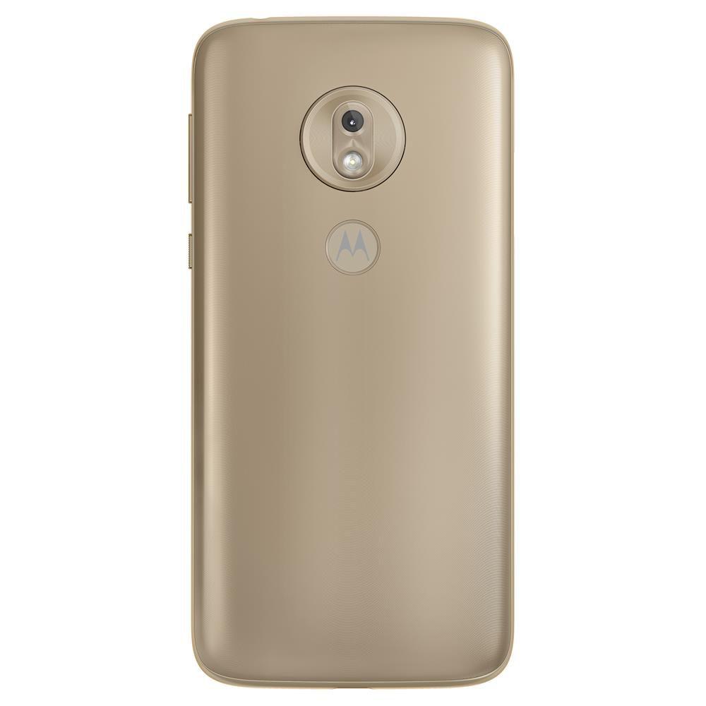 "Smartphone Motorola Moto G7 Play 32GB Dual Chip Android Pie - 9.0 Tela 5.7"" 1.8 GHz Octa-Core 4G Câmera 13MP - Dourado"