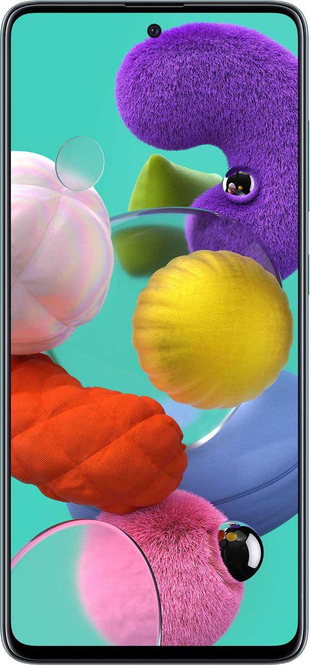 """Smartphone Samsung Galaxy A51 128gb 4gb Ram Dual Tela de 6.5"""" 4G Câmera Quádrupla de 48+5+12+5MP - Azul"""