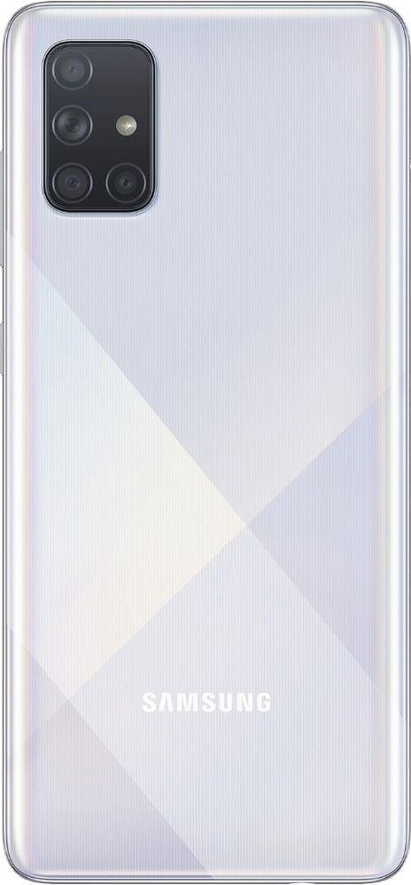 """Smartphone Samsung Galaxy A71 128gb 6gb Ram Dual Tela de 6.7"""" 4G Câmera Quádrupla de 64+5+5+12MP - Branco"""