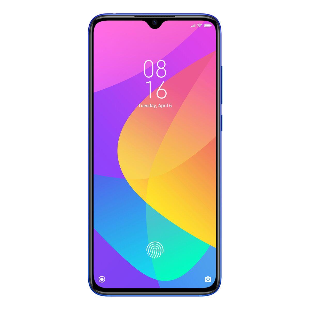 """Smartphone Xiaomi Mi 9 Lite 64gb 6gb Ram Dual Tela de 6.39"""" 4G Câmera Tripla de 48+8+2 Versão Global - Azul"""
