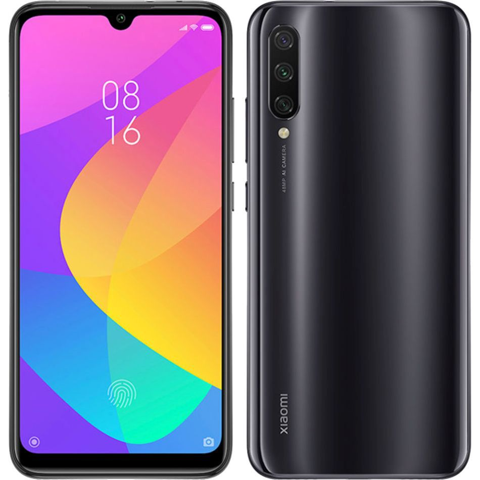 """Smartphone Xiaomi Mi 9 Lite 64gb 6gb Ram Dual Tela de 6.39"""" 4G Câmera Tripla de 48+8+2 Versão Global - Preto"""