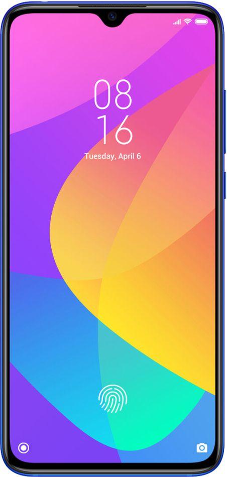 """Smartphone Xiaomi Mi 9 Lite 64GB 6GB RAM Tela 6.39"""" Dual Chip Câmera Tripla de 48+8+2MP - Azul"""