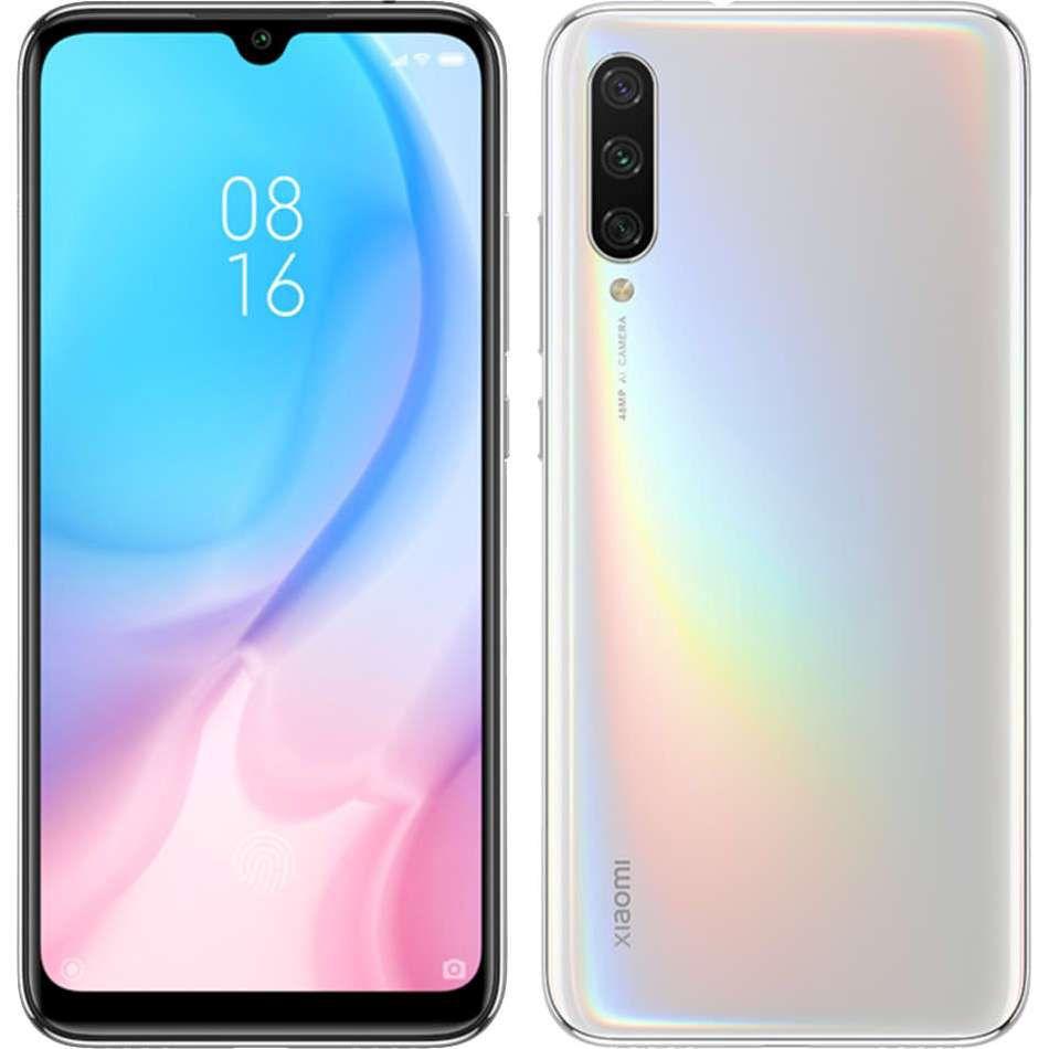 """Smartphone Xiaomi Mi A3 64gb 4gb Ram Dual Tela de 6.08"""" 4G Câmera Tripla de 48+8+2MP Versão Global - Branco"""