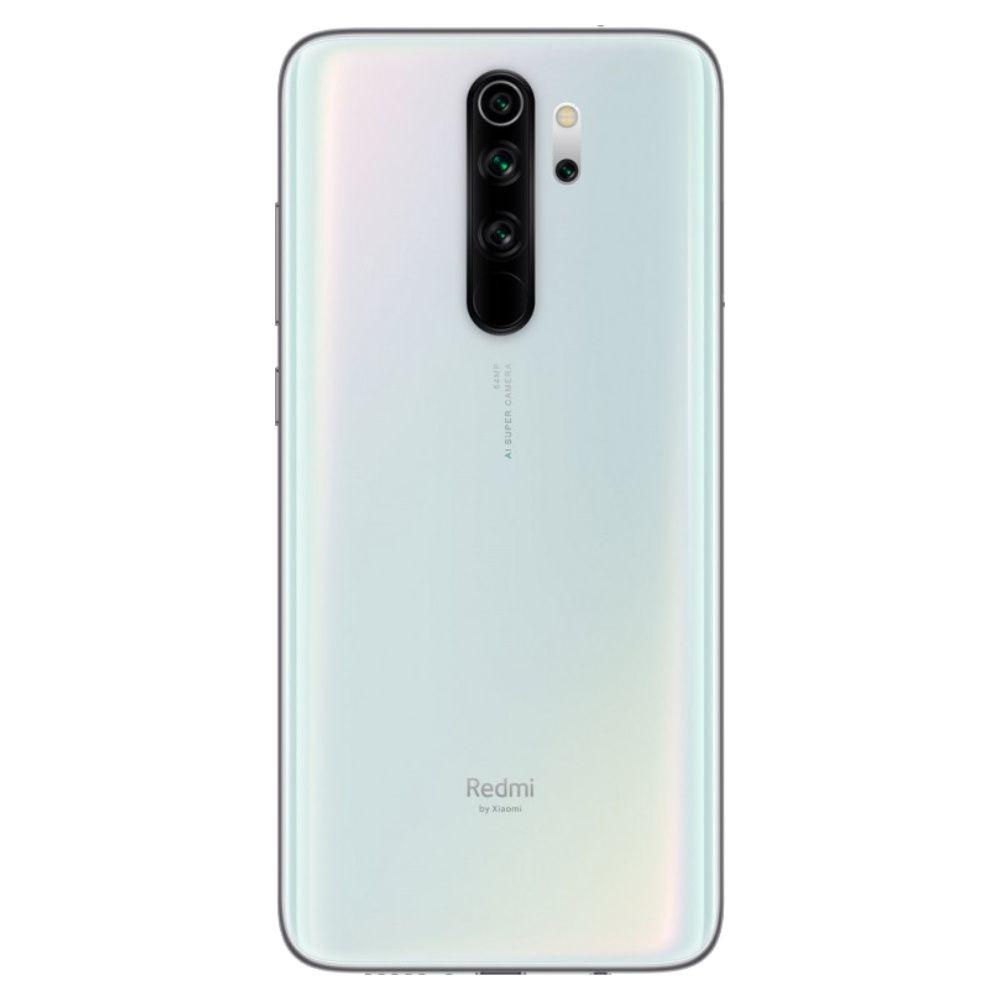 """Smartphone Xiaomi Redmi Note 8 Pro 128gb 6gb Ram Dual Tela de 6.53"""" 4G Câmera Quádrupla de 64+8+2+2MP Versão Global - Branco"""