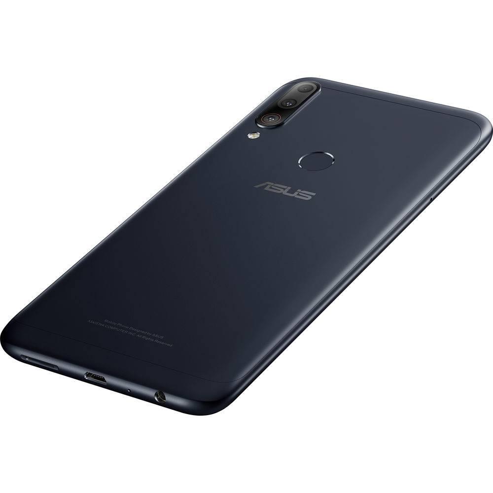 "Smartphone Zenfone Asus Max Shot 64 GB Dual Chip Android Oreo Tela 6,2"" Qualcomm QSP SIP1 4G Câmera tripla 12MP+5MP+8MP - Preto"