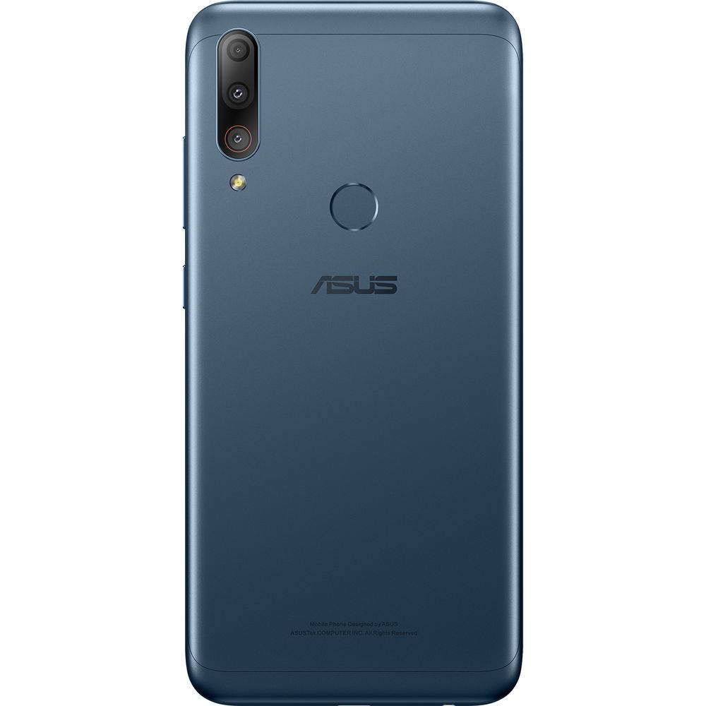 "Smartphone Zenfone Asus Max Shot 64 GB Dual Chip Android Oreo Tela 6,2"" Qualcomm QSP SIP1 4G Câmera tripla 12MP+5MP+8MP - Azul"
