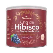 Chá de Hibisco c/ Semente de Uva 200g - Sabor Uva