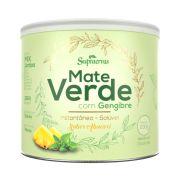 Mate Verde c/ Gengibre 200g - Sabor Abacaxi