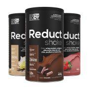 Reduct Shake 400g - Com Whey Protein, Colágeno, Albumina e Chia.