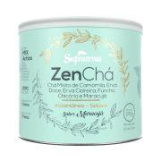 Zenchá 200g - Chá misto de Camomila, Erva Doce, Erva Cidreira, Funcho, Chicória e Maracujá - Sabor Maracujá