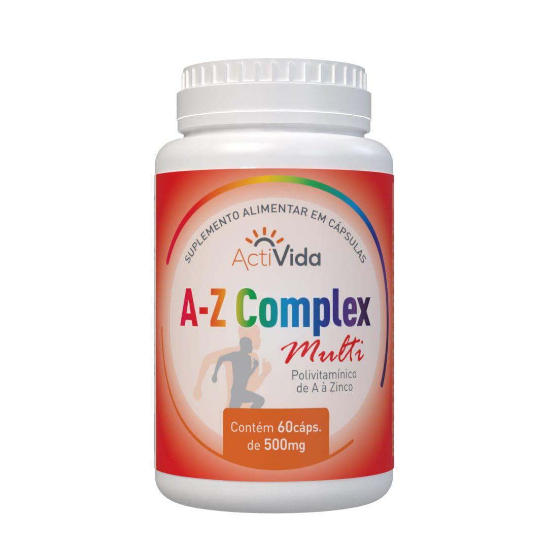 A-Z Complexo Multi - Polivitaminico - 60 cápsulas
