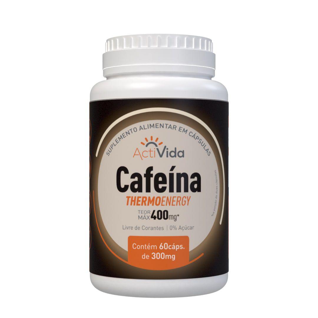 Cafeína - 60 cápsulas