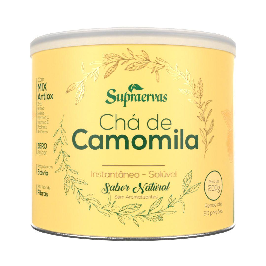 Chá de Camomila 200g - Sabor Natural