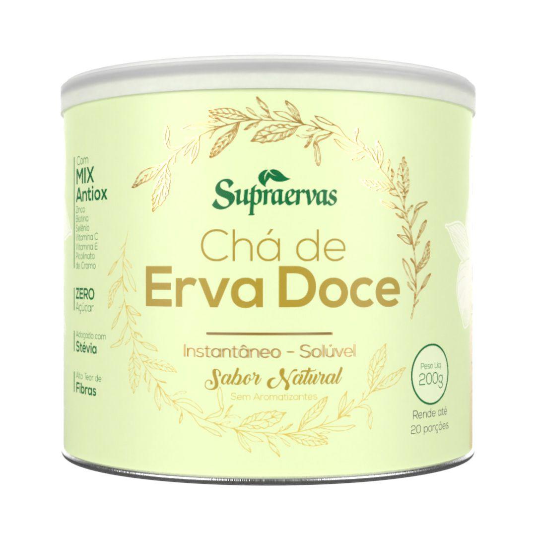 Chá de Erva Doce 200g - Sabor Natural
