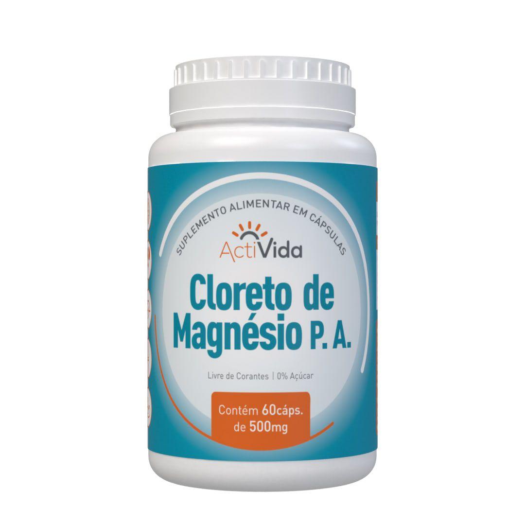 Cloreto Magnésio P.A. - 60 cápsulas
