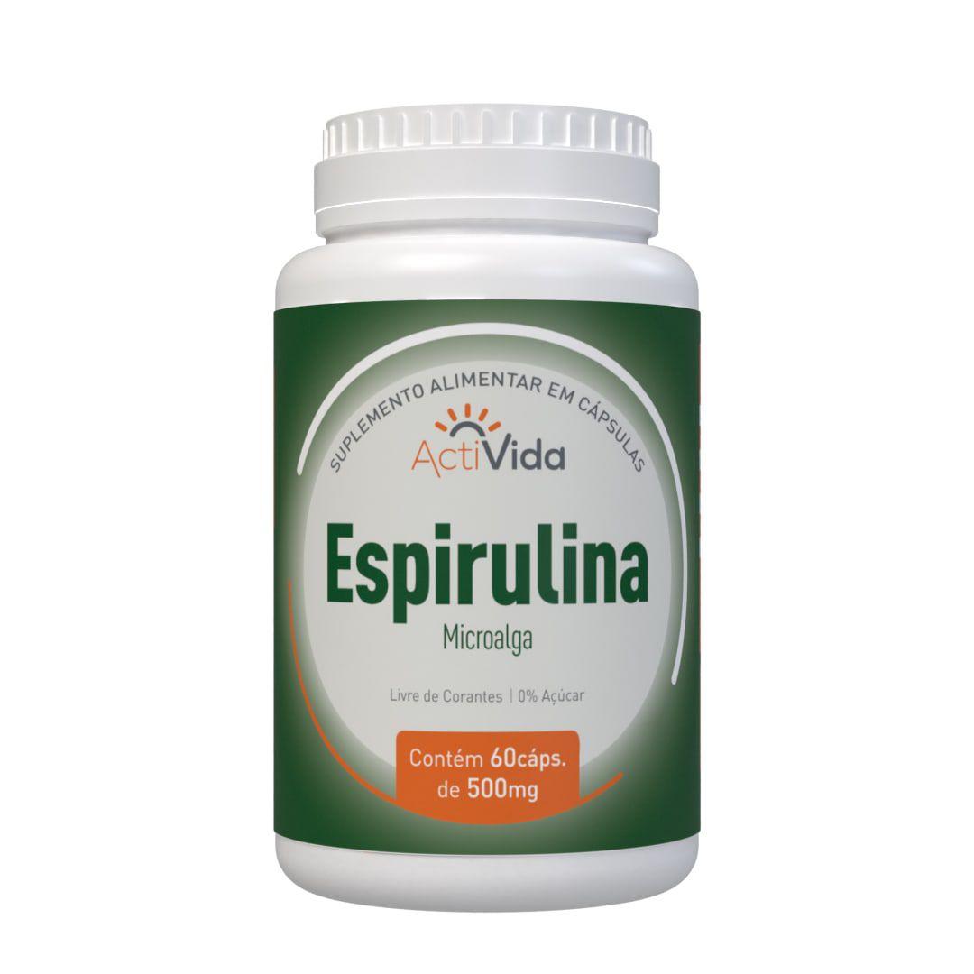 Espirulina - 60 cápsulas
