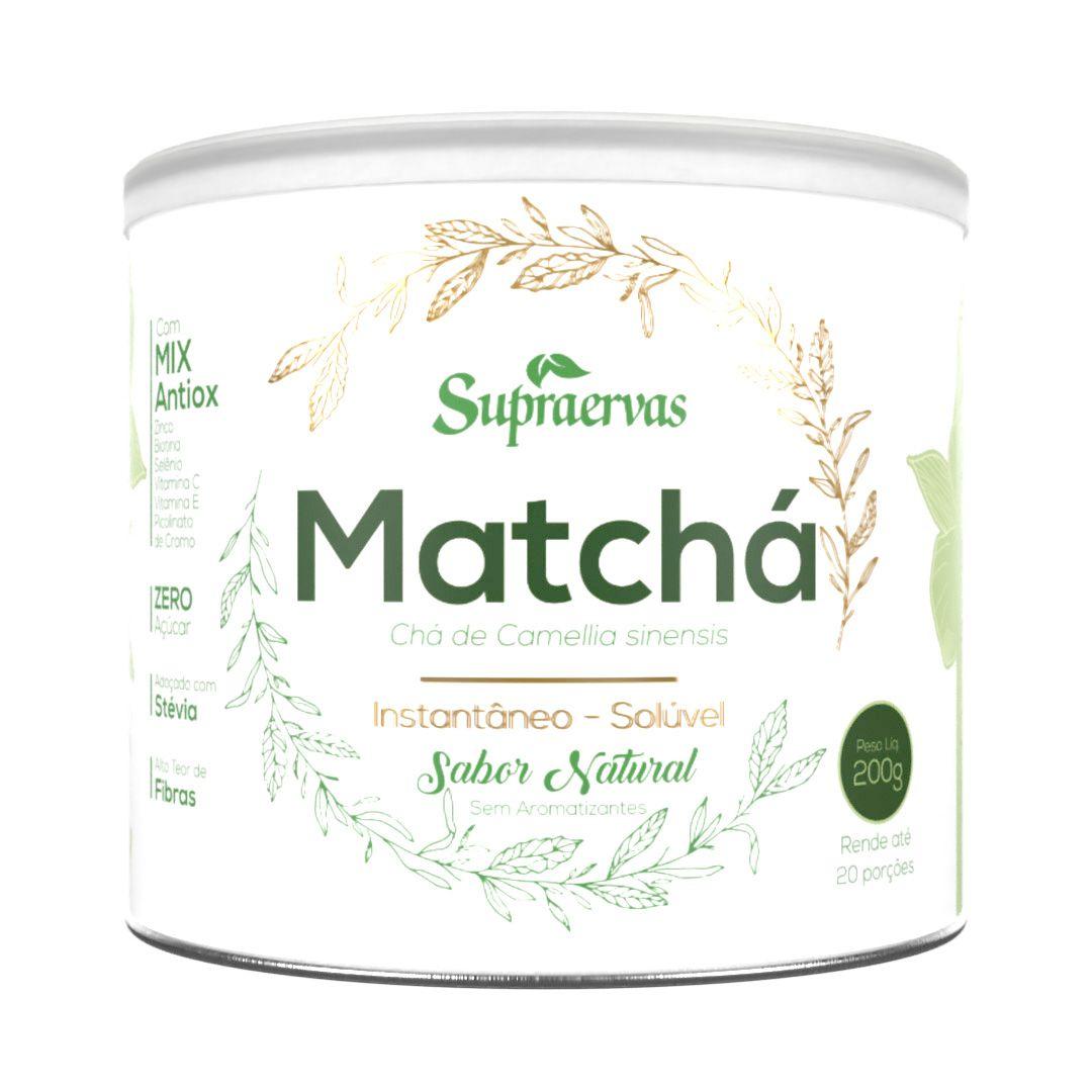 Matchá 200g - Sabor Natural
