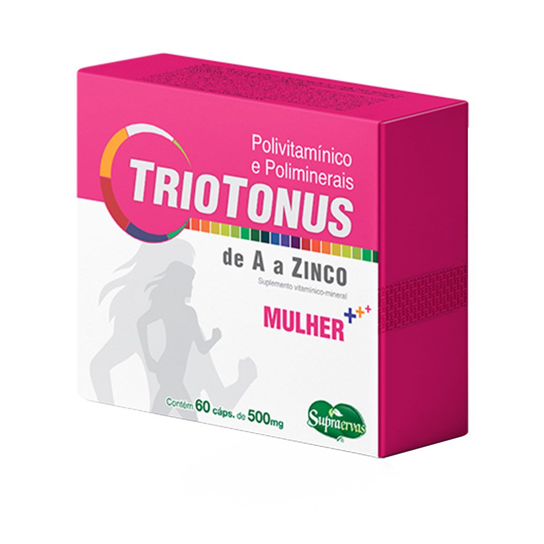 Triotonus Mulher - Polivitamínico - 60 cápsulas