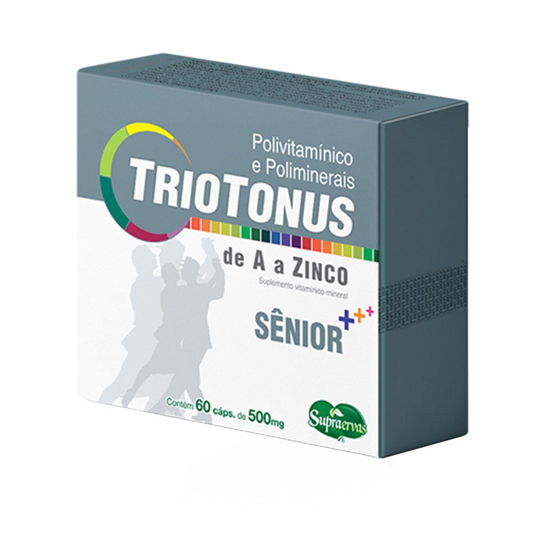 Triotonus Sênior - Polivitamínico - 60 cápsulas