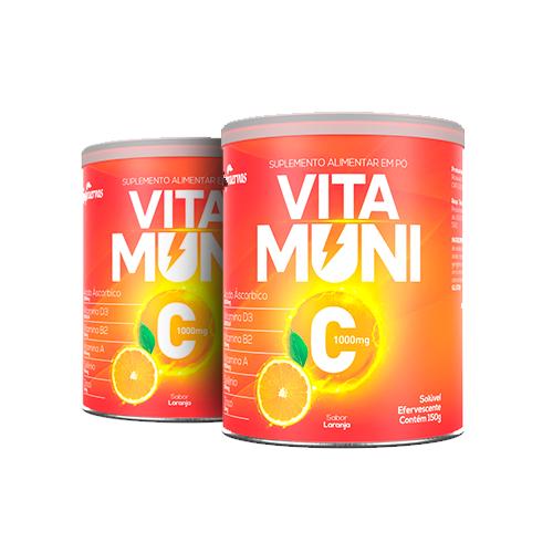 Vitamuni C - 150g - Efervescente - 2 UNIDADES