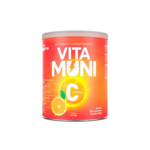 Vitamuni C - 150g - Efervescente