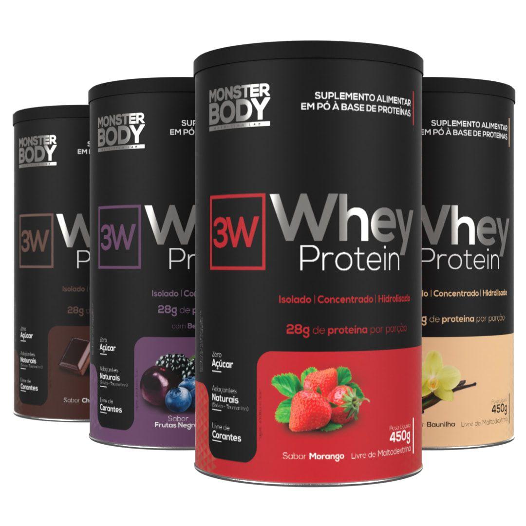 Whey Protein 3W 450g