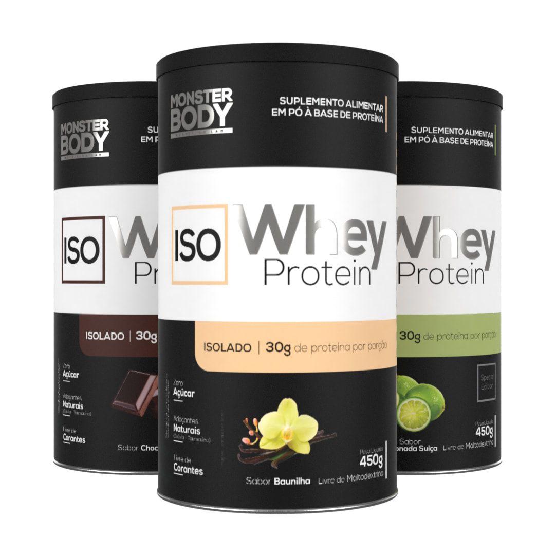 Whey Protein Iso 450g - Proteína Isolada