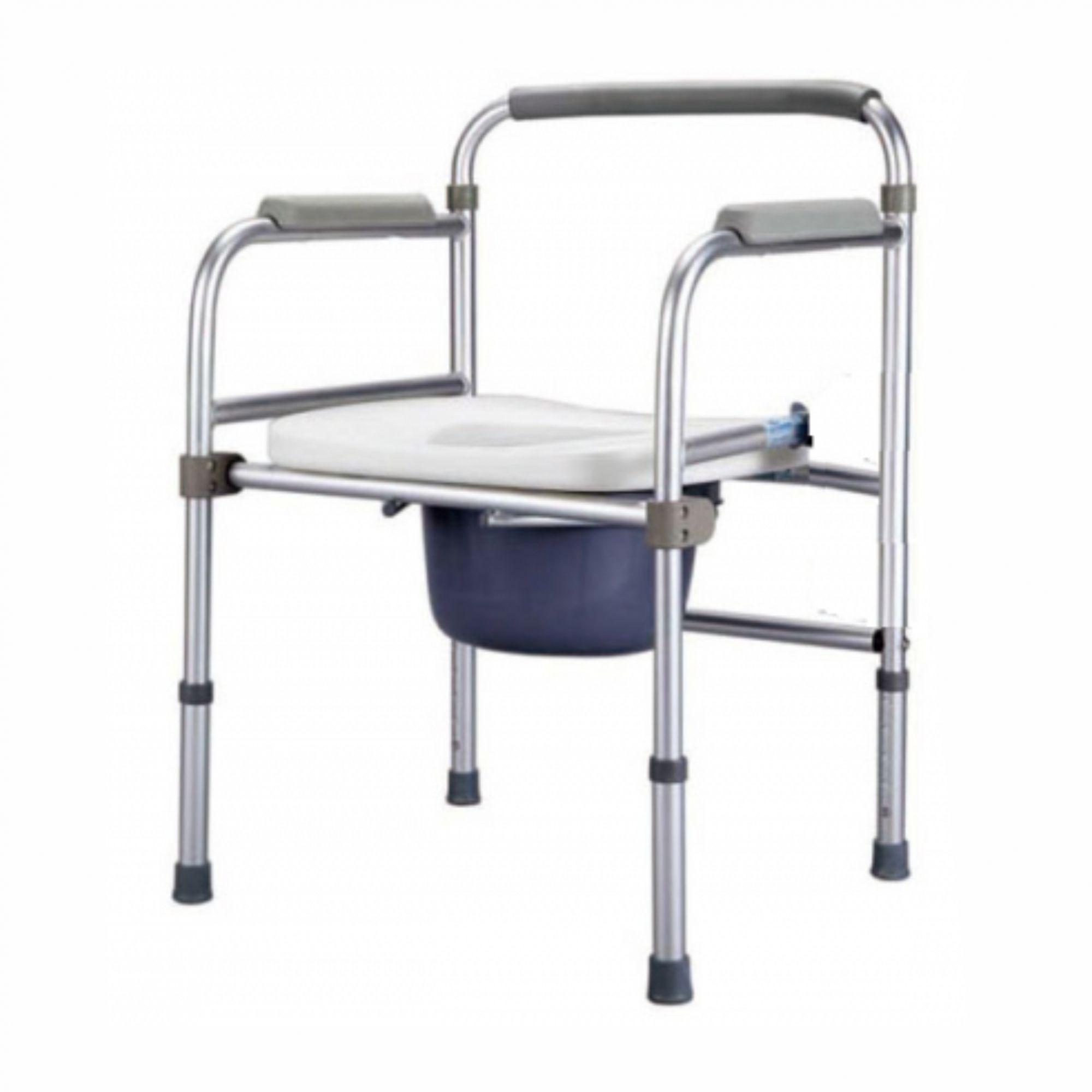 Cadeira de banho em alumínio dobrável ZIMEDICAL FST7800J