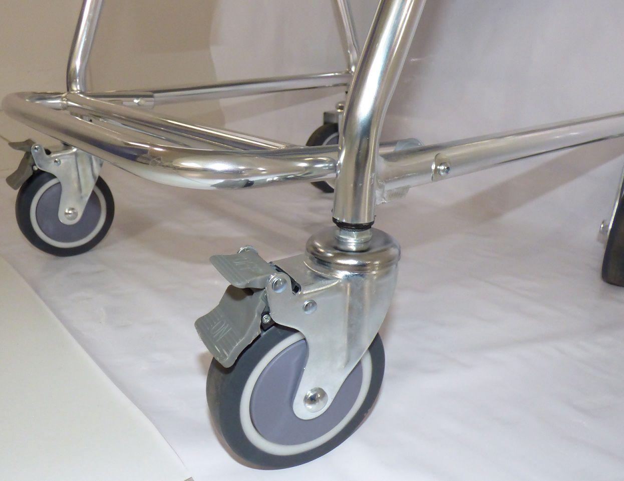 Cadeira de banho em alumínio plus ZIMEDICAL ALK699L